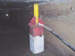 コンクリート杭の圧入