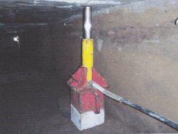 電動ジャッキによるコンクリート杭の圧入