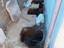 【家の傾き修正事例】福井県福井市 和室の一角だけの部分沈下修正工事