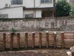 【家の傾き修正事例】長崎県長崎市 隣地のマンション工事による地盤沈下の修正工事