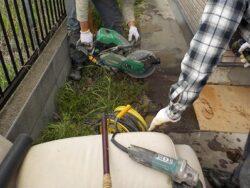 コンクリート土間解体